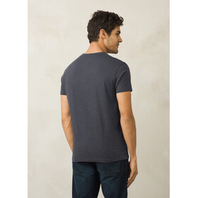 Prana V-Neck SS Shirt Men Charcoal